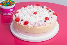 Torta Helada de Frutilla