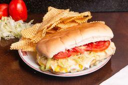 Sándwich Vegetariano + Papas