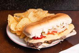 Sándwich de Cerdo + Papas