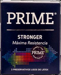 Preservativo Prime Stronger 3 U