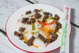 Wok Chow Mi Fen de Carne
