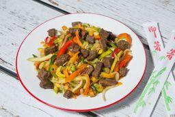 Wok Chop Suey de Carne