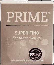 Prime - Preservativo Gris Superfino X 3un