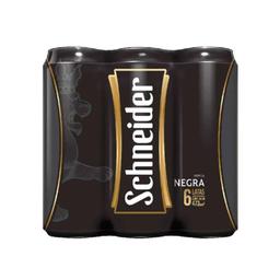Six Pack Cerveza Schneider Negra Lata 473ml