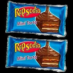 Combo 2U Rapsodia Mini Torta 80 Gr. 2 X 30.00
