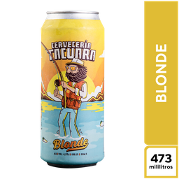 Cerveza Galpón de Tacuara Blonde 473 ML