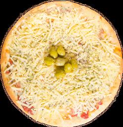 Pizza de Muzzarella & Provolone