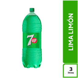 7Up Lima Limón 3 L