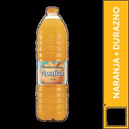 Awafrut Naranja y Durazno 1.65 L