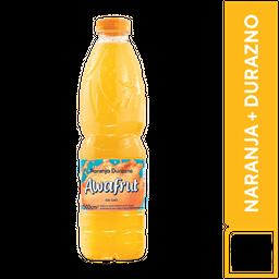 Awafrut Naranja y Durazno 500 ml