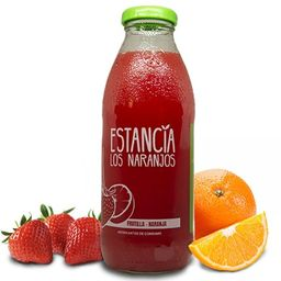 Jugo de Frutilla y Naranja 500 ml