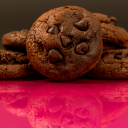 Cookies de Doble Chocolate X 5