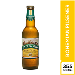 Patagonia Bohemian Pilsener 355 ml
