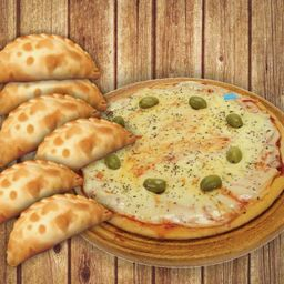 Combo Rappi - Muzza y 6 Empanadas