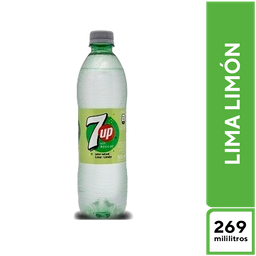 7Up Lima Limón sin Azúcar 269 ml