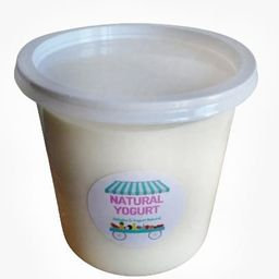 Yogur Griego 100% Natural de 800ml.