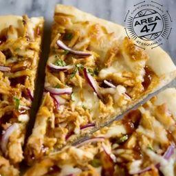 Pizza de Pollo con Cheddar