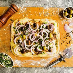 Pizza Rústica Fugazzeta Triple