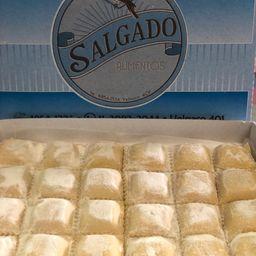 2 Planchas de Ravioles de Calabaza Freezadas(rinde 3 Porciones)