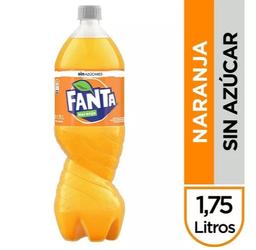 Fanta Naranja Sin Azúcar 1,75 L