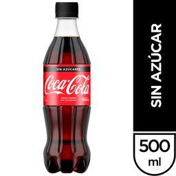 Coca-Cola sin Azúcar 500 ML