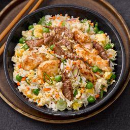 Chaw Fan + Pollo + Carne