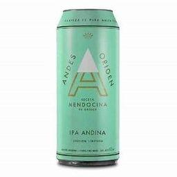 Cerveza Andes, Lata 473cc, Ipa