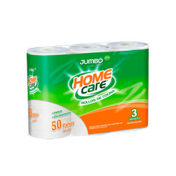 Papel de Cocina Jumbo Home Care 3 U