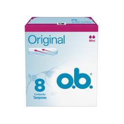 Tampones O.B. Original Mini 8 U