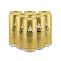Six Pack Andes Rubia 473ml 6 Unidades
