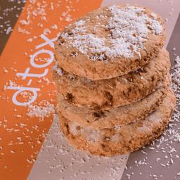Cookie de Coco Vegana