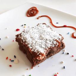 Brownie con Dulce de Leche & Coco