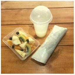 Oficina Saludable - Roll/fruta/limonada