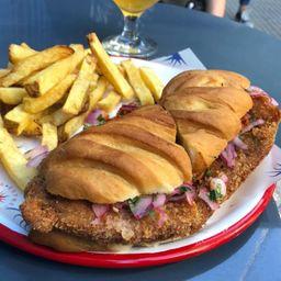Sándwich de Milanesa de Ojo de Bife