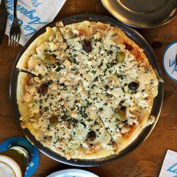 Pizza Pollo al Verdeo