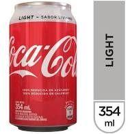 Coca-Cola Light de 354 Ml.