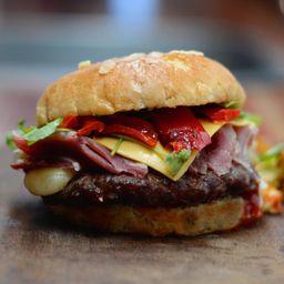 Combo Burger Donna Rosa