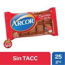 Arcor Chocolate Leche 25g