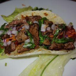 Combo 6 Tacos Carne Asada y Cerveza