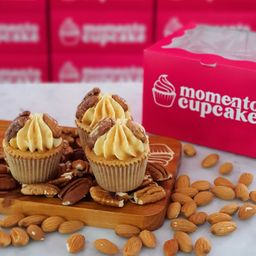 Mini Cupcake Caramelo X 3