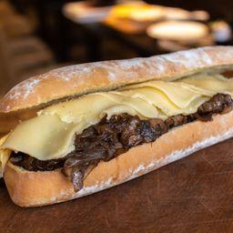 Philly Cheese Steak + Papas