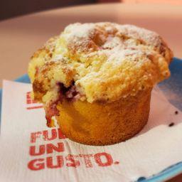 Muffin Choco Blanco & Frutos Rojos
