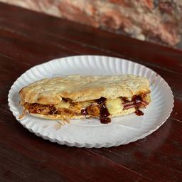 Pizza Sándwich BBQ