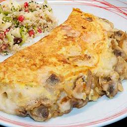 Omelette de Brie y Champignones