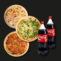 Combo Pizzas Familiar