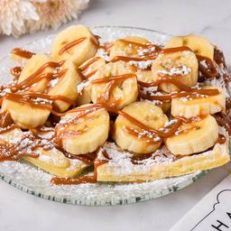Waffles con Banana & DDL