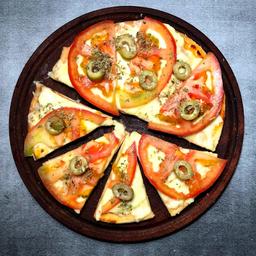 Pizzeta con Tomate.
