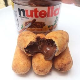 Tequeños de Nutella