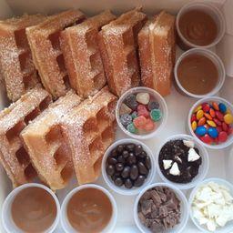 Kit para Crear Waffles Nutella Divertido