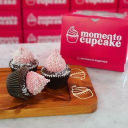 Mini Cupcake Frambuesa X 3